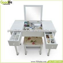 muebles de dormitorio conjunto silla cómoda espejo venta al por mayor