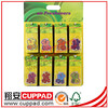 hanging paper,flower shape paper air freshener ,for wholesale