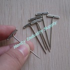 32mm Tailor's Nickel Steel T Shaped Pleating Pins