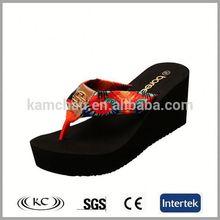 europe best selling cheap price black EVA slipper finger