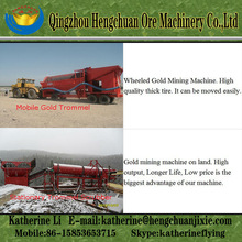 Mobile Gold Processing Plant Hot Sale in Southeast Asia