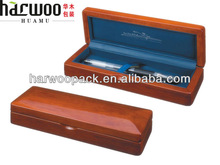 Painted Wooden pencil case with high quality