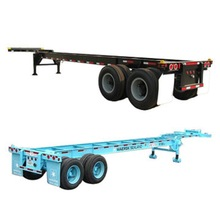 40ft Gooseneck Chassis with Two Axles
