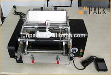 Manual glue labeing machine