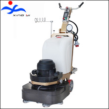 Four head 10HP concrete terrazzo floor granite stone grinder for sale