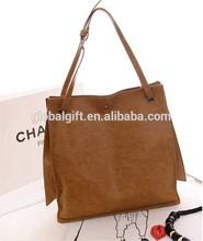 Faux Leather Tote Shoulder Satchel Shoppers bag