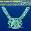 el último química bordado collar de diseño de patrones para los vestidos