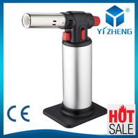 Aluminum Inflatable Butane Gas Jet Flame Torch Lighter Welding Soldering GunYZ-709