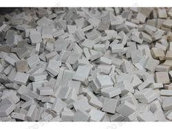 mosaic stone block Emperador dark cut material