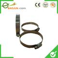 China metal universal quick release braçadeiras para tubos, Pequeno diâmetro galvanizado giratória flange braçadeira