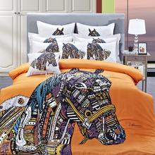 3 d new fashion design small endowment 100% cotton 4 PCS bedding wholesale activities