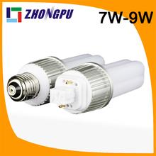 11w g24 led pl light replacing 26w cfl 9W E27 G24 G23 4pin 360dgree 82Ra SMD2835 990lm Retrofit White (Replace 35W CFL)