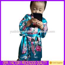 novo design fabricante chinês atacado vestido crianças veste kimono