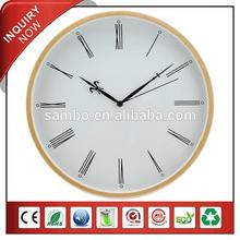 Relógio de parede barato algarismos romanos