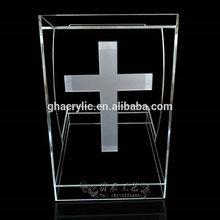 Retail clear church podium /cheap clear church pulpit