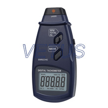 Hand-Held SM6234E Non-contact Photoelectric Pro Laser Tachometer with RPM Meter Speed Tester Storage