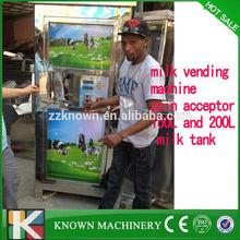 150L coin operated automatic milk dispenser machines/automatic milk vending machine/milk dispenser machine