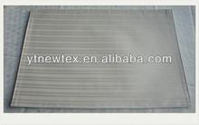 striped decoration damask polyester placemat fashion jacquard runner