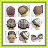 Hotsale cheap silk lace can be bleached knots adjustable wig caps for human hair wigs