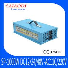 DC TO AC 1000W 12v dc ac power inverter
