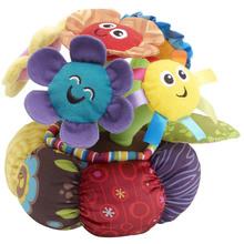 Soft Chime Garden Music Dancing Flower Plush Toys