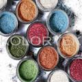 Cosméticos naturales y pigmentos minerales, ingredientes de maquillaje mineral