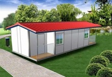 pre-build kit home,light steel prefabricated home , small bungalow