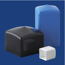 Hot sell plastic end caps for square bar, square bar end caps, end cap for steel bar