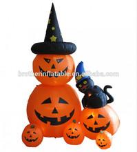 2014 giant halloween pumpkin combination inflatables