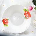 8 inç seramik salata tabagina, özel baskı melamin levha baskı, çorba tabağı