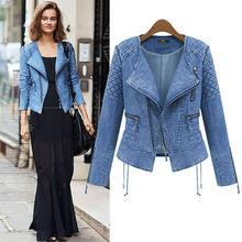 C83298A 2014 hot sale women denim jacket/high quality coat/denim coat