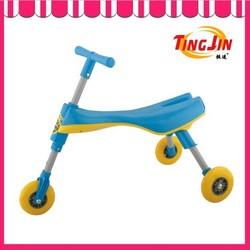 plastic balance bike folding maxi kick scooter