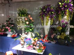 Home garden deco Artificial solar craft color flower combinations for ESHZ09 14110