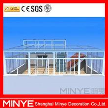 China Manufacturer Aluminium Glass Sunroom for Solarium