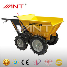 mini dumper 4x4 dumper gasoline dumper& power barrow&muck truck with CE 250kg industrial barrow manufacture