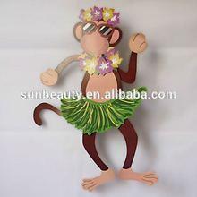 Garden decor monkey for summer party supplies