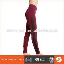 4 needles flatlock compression wear; women legging tights pant