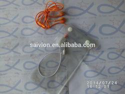waterproof pvc cellphone ear line bag