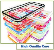 Transparent Silicone Bumper Case for Iphone 6 Iphone 6 plus