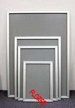 Publicidad de la alta calidad A3 de aluminio de plata marco de las fotos