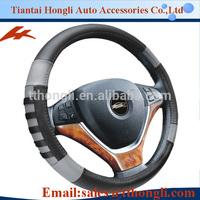 HL89083 new design racing steering wheel cover/ fashional PVC steering wheel cover