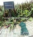 led deiluminação solar vaso de plantas