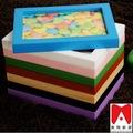 إطار الصورة البلاستيكية الملونة 4x6 5x7 6x8 8x10 الشركات الخشب الاندونيسي
