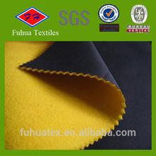 Bonded Fleece Fabric/Sherpa Fleece Bonding With pongee Fabric/Bonding fabric