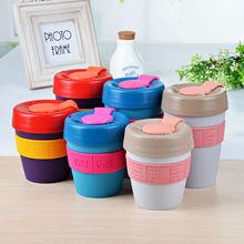 Eco-Friendly and CE / EU,CIQ,EEC,FDA,LFGB,SGS Certification cups with lids