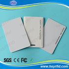 China cr80 standard pvc dual interface card