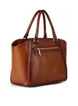 agr6155 fashion vintage cow leather handmade tote bag shoulder bag for woman