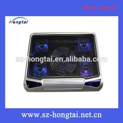 hongtai five fans laptop cooling pad