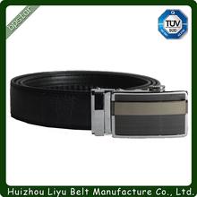 Hot sale camel leather belt company logo brand customized