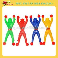 Promotion plastic sticky crawler toys